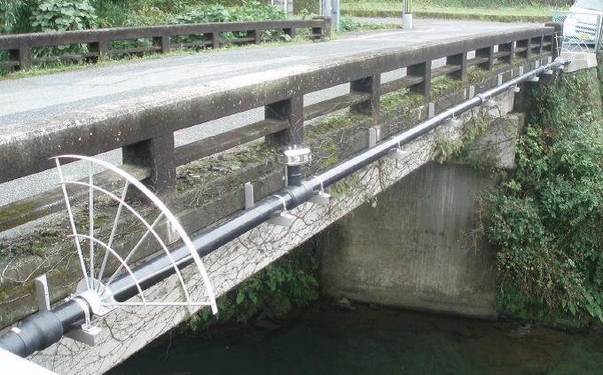 橋梁添架配管用サンプロテクト」がNETIS災害復旧・復興支援サイトに登録されました。