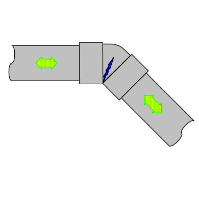 DV継手の熱伸縮割れ